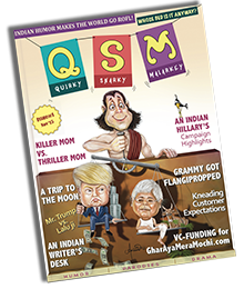 The QSM Magazine - The Indian Magazine of International Humor - Desi and American humour magazines